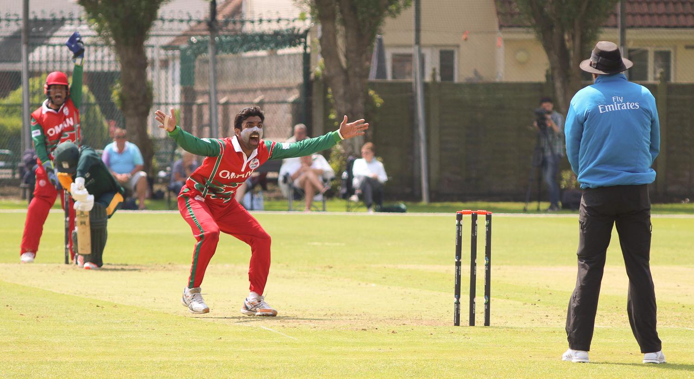 Aamir Kaleem of Oman