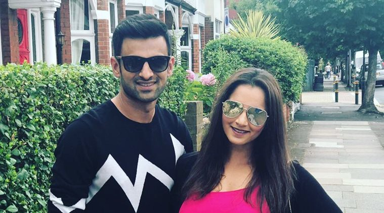 Sania Mirza with Shoaib Malik | Instagram