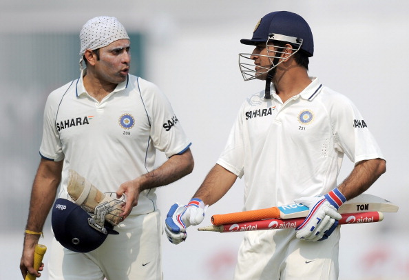 VVS Laxman and MS Dhoni | Getty