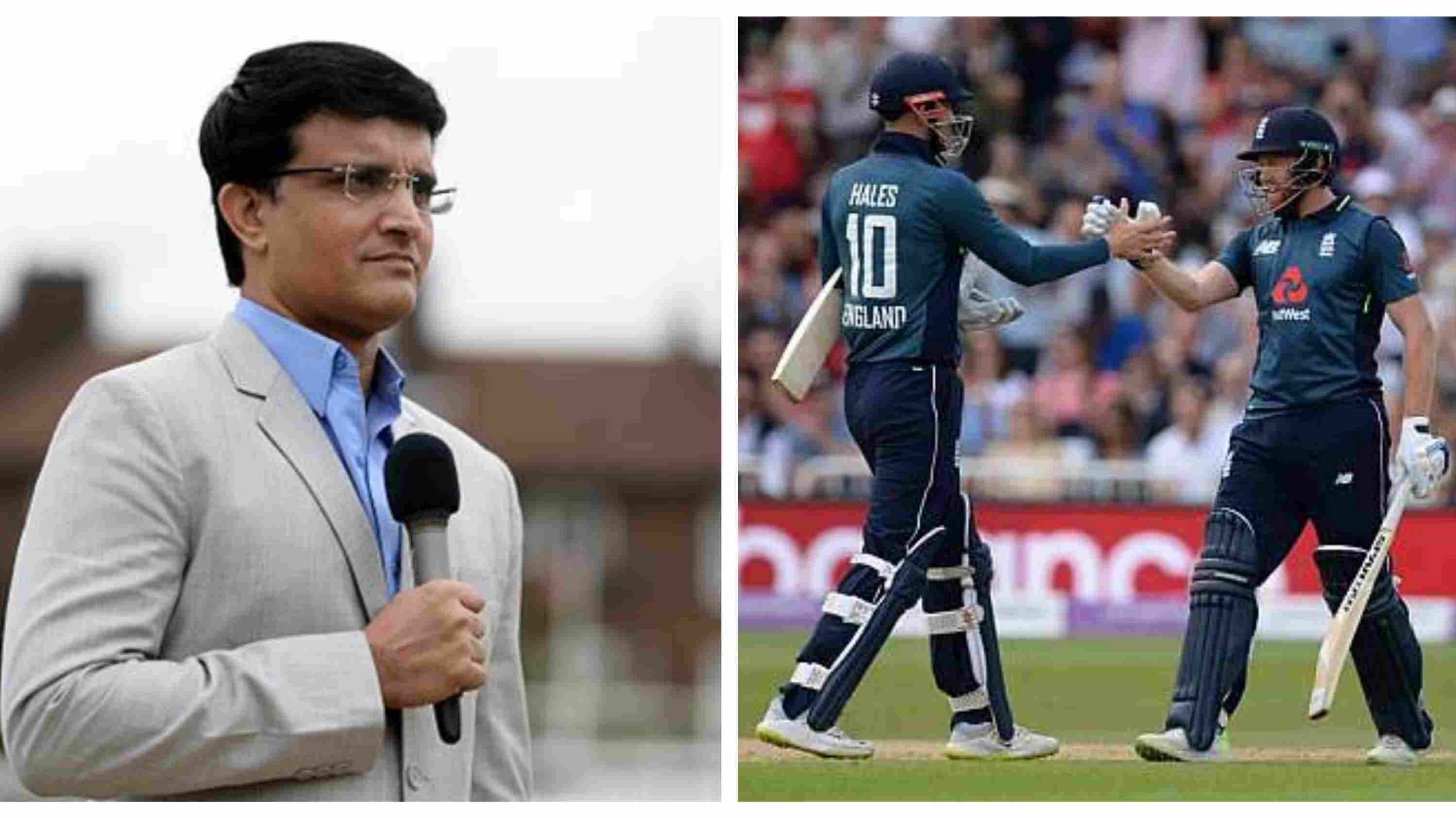 ENG v AUS 2018: Sourav Ganguly 'scared' after England batsmen's brutal assault on Australia