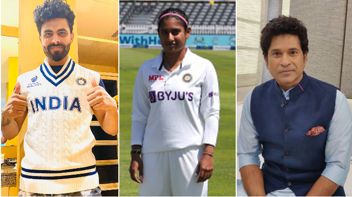 ENGW v INDW 2021: India's men cricketers send best wishes to women's team ahead of England Test