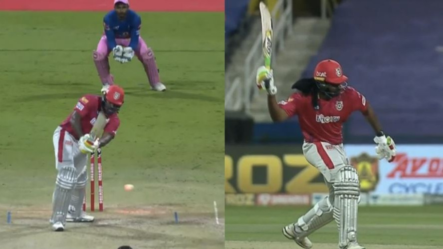 IPL 2020: Chris Gayle fined for violating IPL Code of Conduct in the match against RR