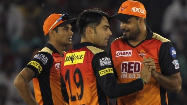WATCH: Rashid Khan and Khaleel Ahmed engages in a funny fight