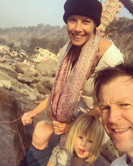 Jonty Rhodes with family | Instagram