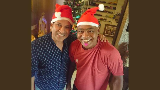 सचिन तेंदुलकर ने अपने बचपन के दोस्त विनोद कांबली को 47वे जन्मदिन के अवसर पर दी बधाई