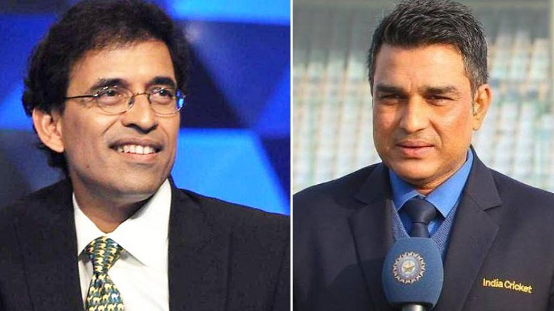 WATCH: Sanjay Manjrekar expresses regret over his on-air spat with Harsha Bhogle