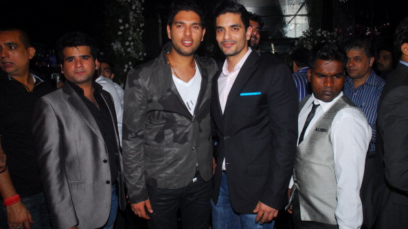 Angad Bedi talks about the reason behind rift with best friend Yuvraj Singh