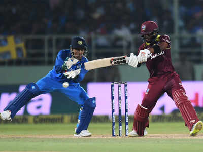 Shai Hope scored an unbeaten century and tied the match for Windies with a last ball boundary | AFP