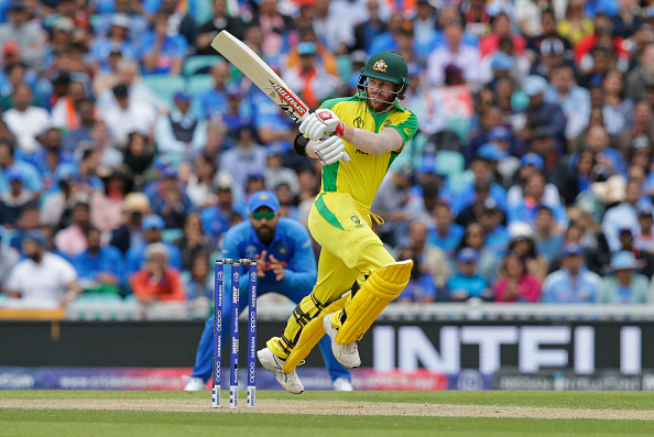 David Warner played slowest innings of his career against India on Sunday | Getty Images
