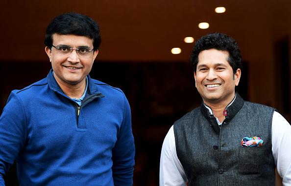 Sourav Ganguly and Sachin Tendulkar   Getty