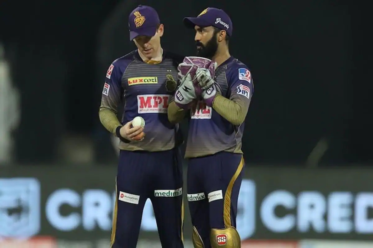 Eoin Morgan and Dinesh Karthik remain the leaders of the KKR team | BCCI/IPL