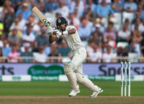 Hardik Pandya scored 73 in Baroda's first innings against Mumbai   Getty
