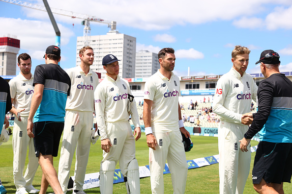 New Zealand won the Test series 1-0 in England   Getty
