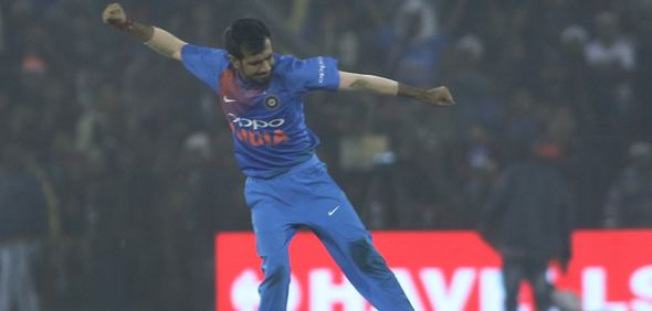 Yuzvendra Chahal will strengthen the Indian bowling | AFP