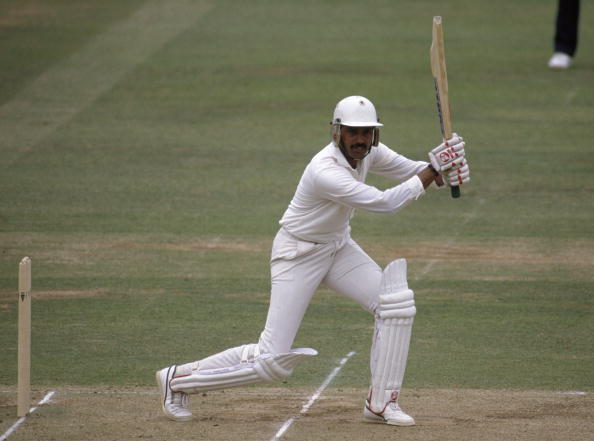 Dilip Vengsarkar during his century at Lord's in 1990 | Getty