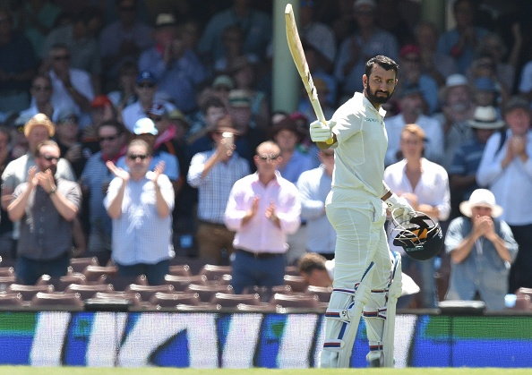 Pujara scored three hundreds during the four-match Test series in Australia | Getty