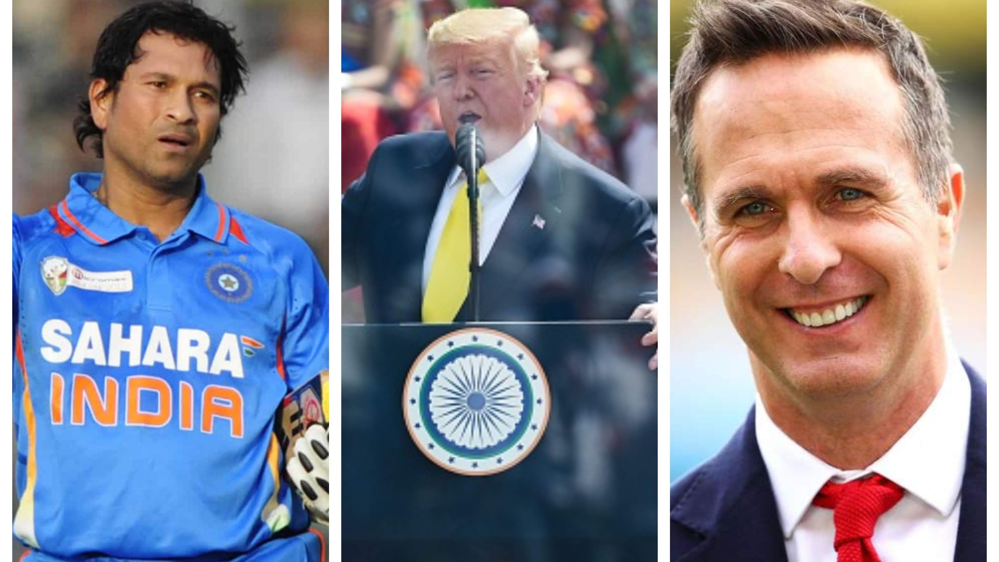 'How are you today Sue Chin?' – Vaughan asks Tendulkar after US President mispronounces his name