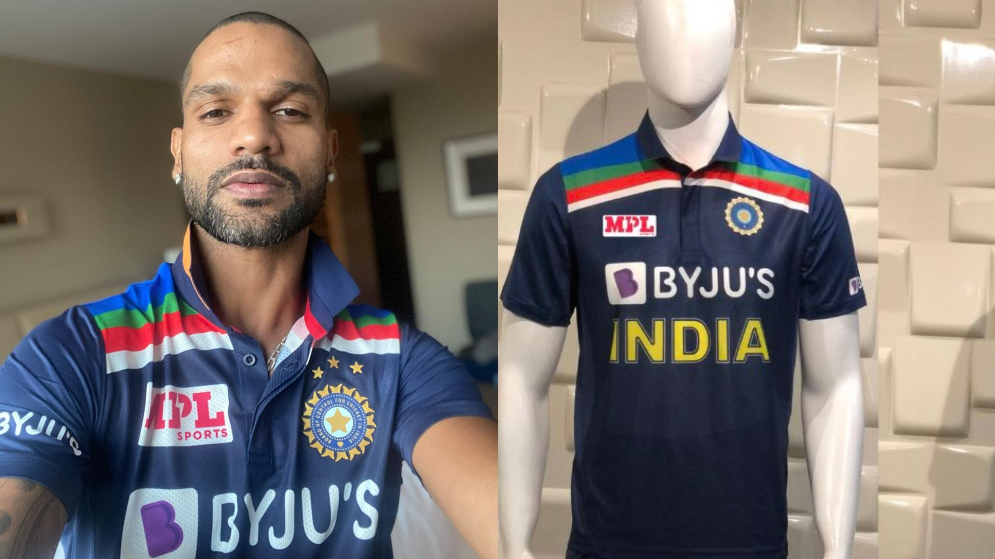 Indian team will also be debuting a new look jersey in the limited overs series vs Australia | Twitter