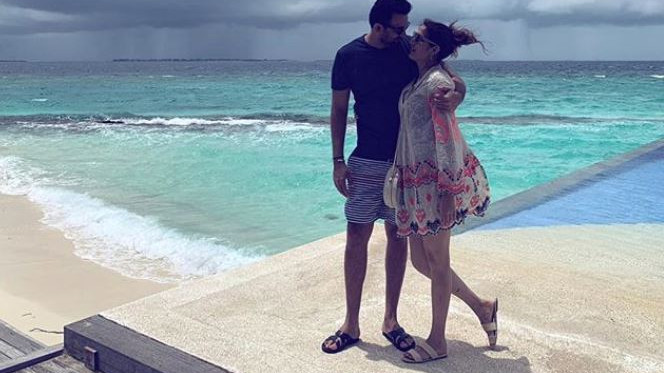 PICS: Zaheer Khan spends time with wife Sagarika Ghatge in Maldives