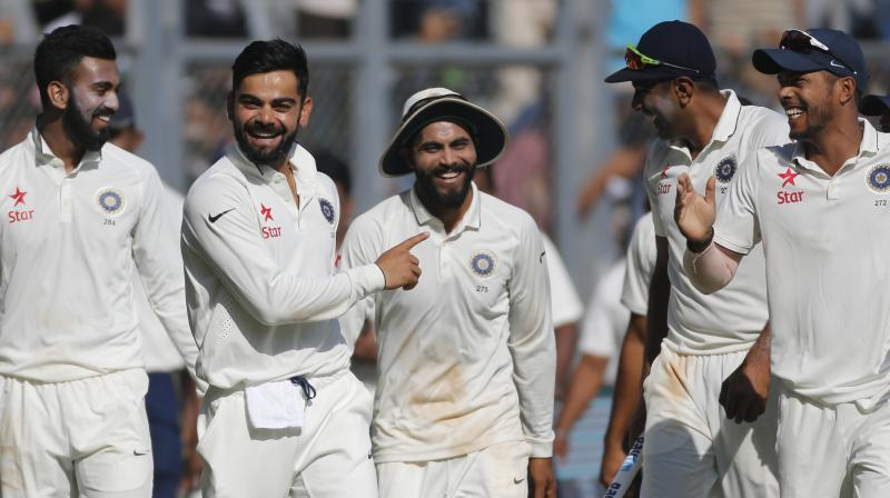 India plays West Indies in two Tests, five ODIs and three T20Is starting October 4 | AFP