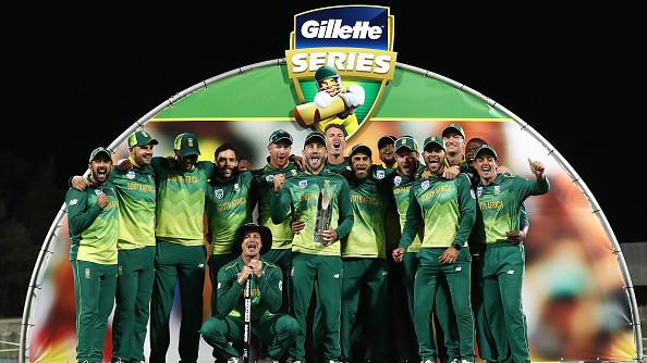 AUS v SA 2018: Faf du Plessis hails team effort after first ODI series win in Australia since 2009