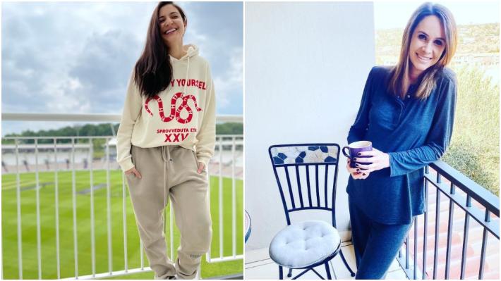 Anushka Sharma and Danielle de Villiers   Instagram