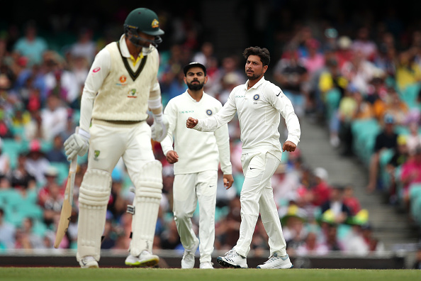 Kuldeep ran through the Australian batting line-up | Gett