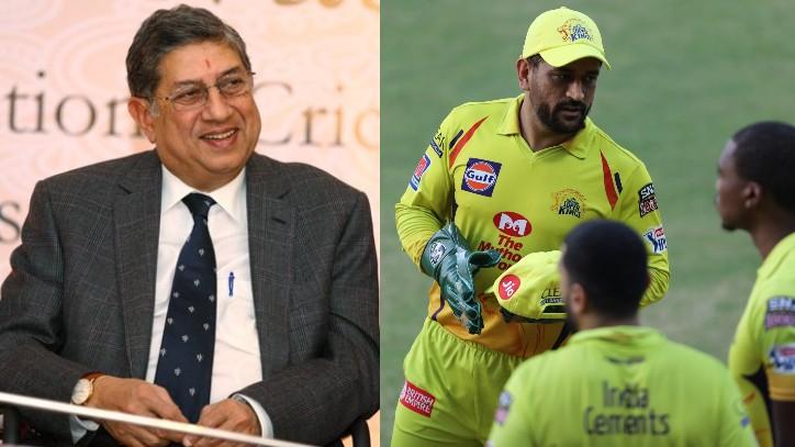 N Srinivasan confirms MS Dhoni will lead CSK in IPL 2021