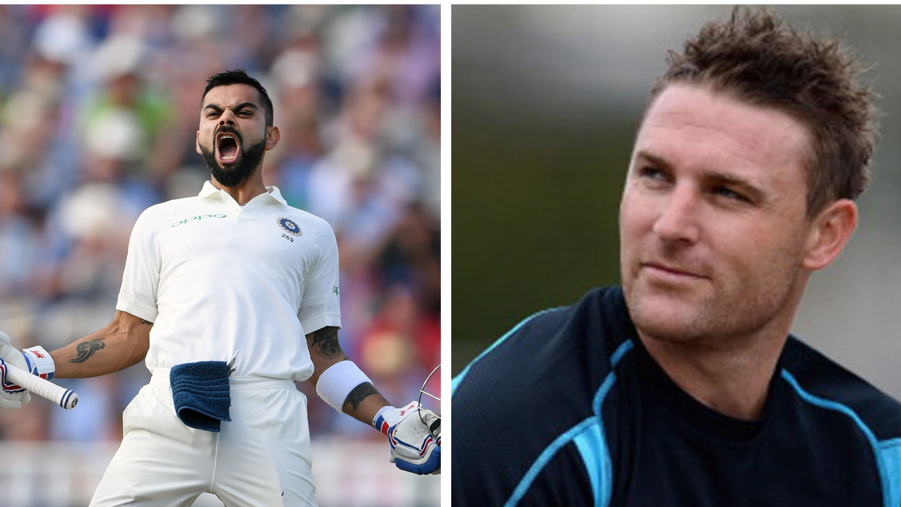 ENG vs IND 2018: Brendon McCullum praise Virat Kohli for his stellar performance in Edgbaston