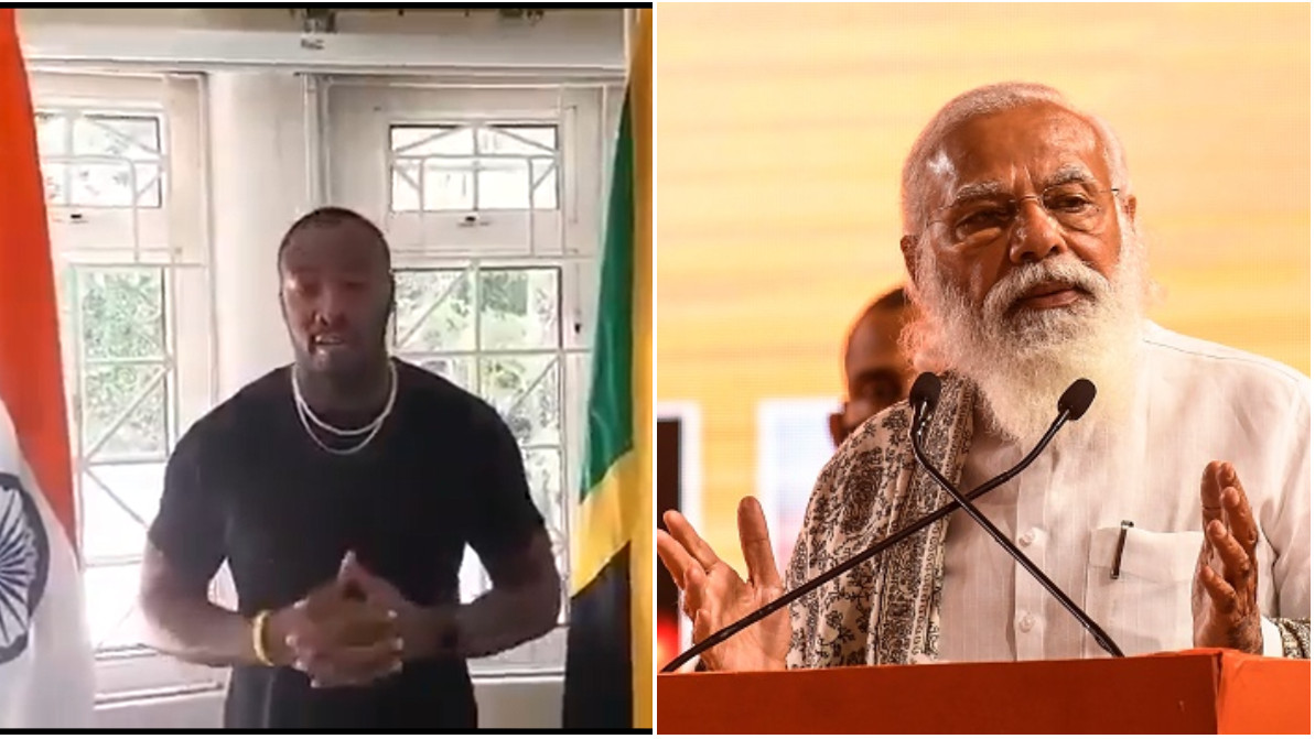 WATCH - Andre Russell thanks Indian PM Narendra Modi for sending COVID-19 vaccines to Jamaica