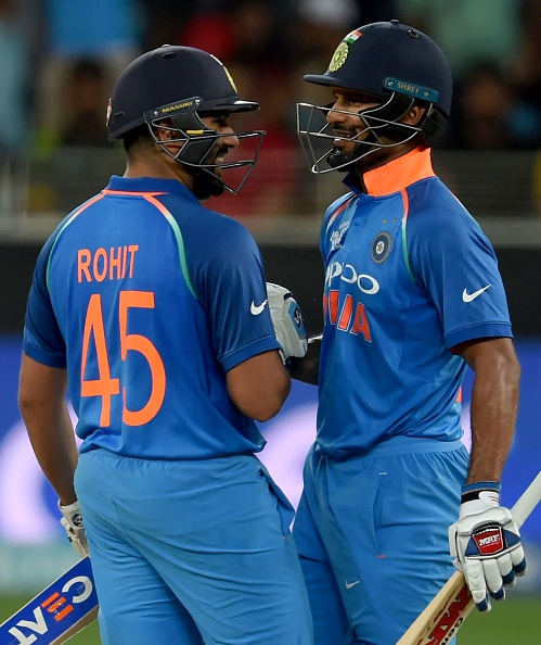 Rohit and Dhawan added 86 runs for the opening wicket to lead the foundation for India's victory | Getty