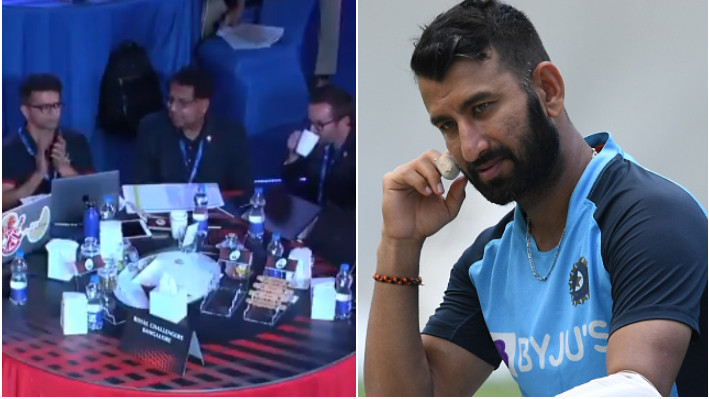 IPL 2021 Auction: WATCH - Franchises clap out of respect after CSK buys Cheteshwar Pujara