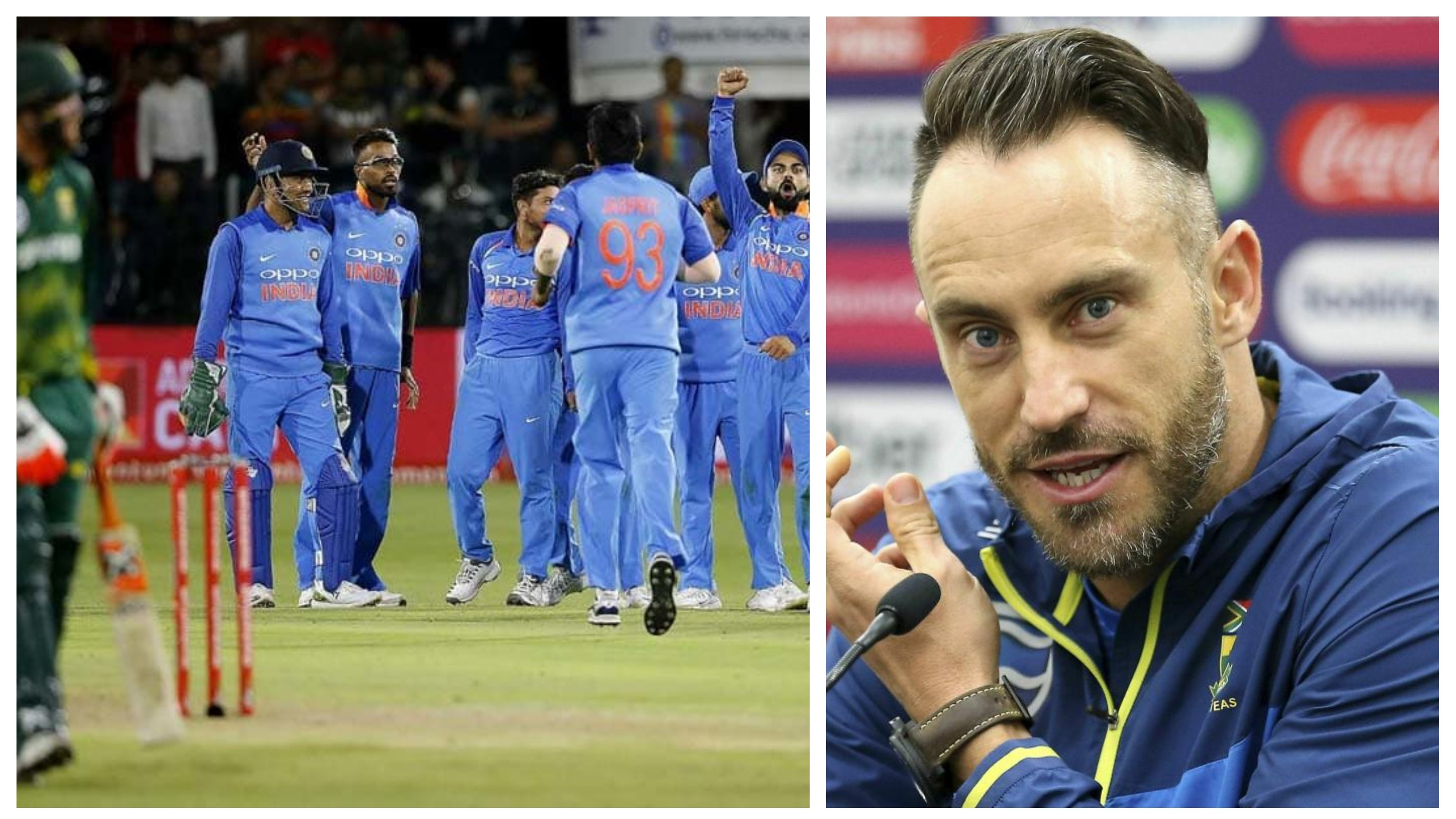 'It was men taking on the boys', Du Plessis admits being outplayed by India during 2018 ODI series at home