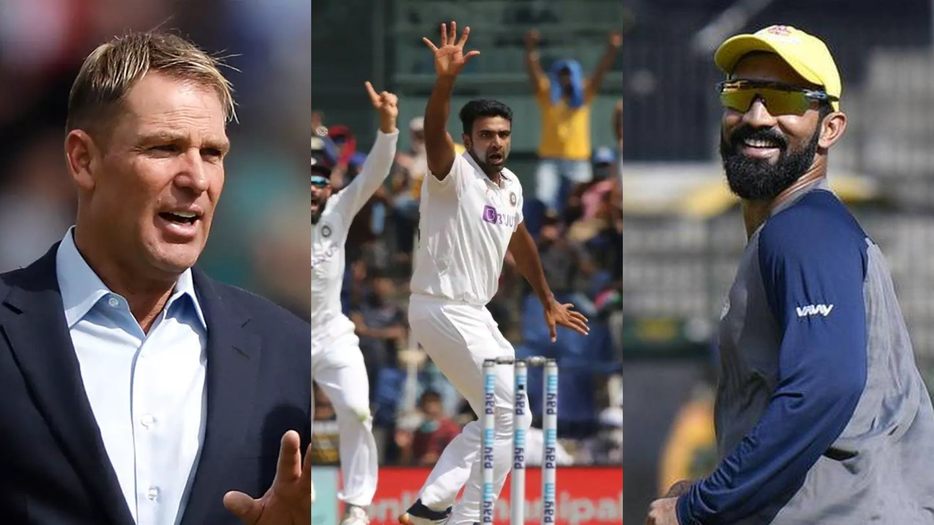 IND v ENG 2021: Cricket fraternity lauds R Ashwin's 5/43 as England makes 134; India ends day 2 with a lead of 249 runs