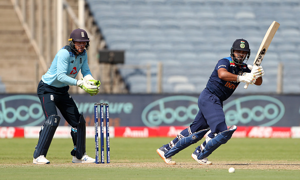 Rishabh Pant hit two consecutive ODI fifty against England   Getty Images