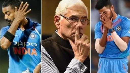 Vinod Rai reveals the reason behind revoking suspensions on Hardik Pandya and KL Rahul