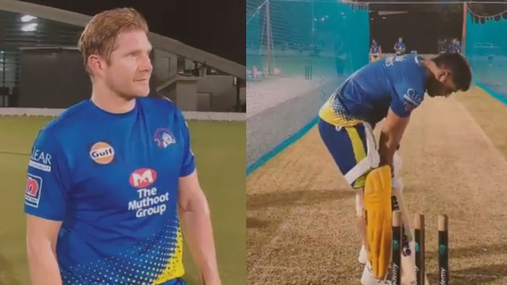 MS Dhoni and Shane Watson | Twitter