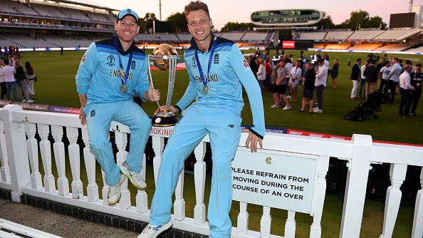 """Morgan lauds Buttler's """"incredibly kind gesture"""" to auction World Cup 2019 final jersey"""
