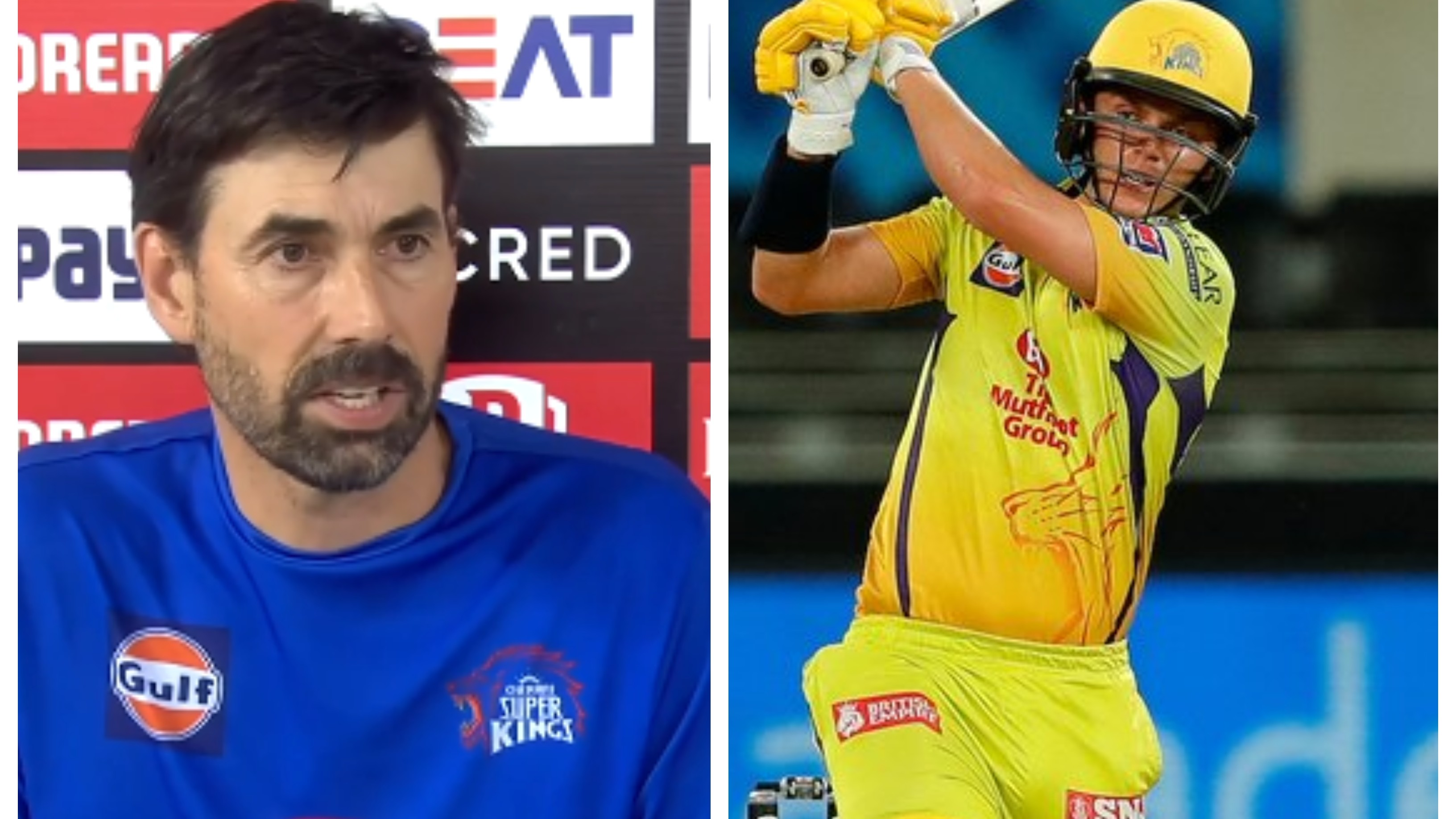 IPL 2020: Stephen Fleming reveals thought process behind sending Sam Curran to open against SRH