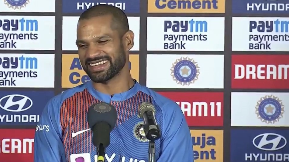 IND v SL 2020: WATCH - Despite the competition, we three are very good friends, says Shikhar Dhawan