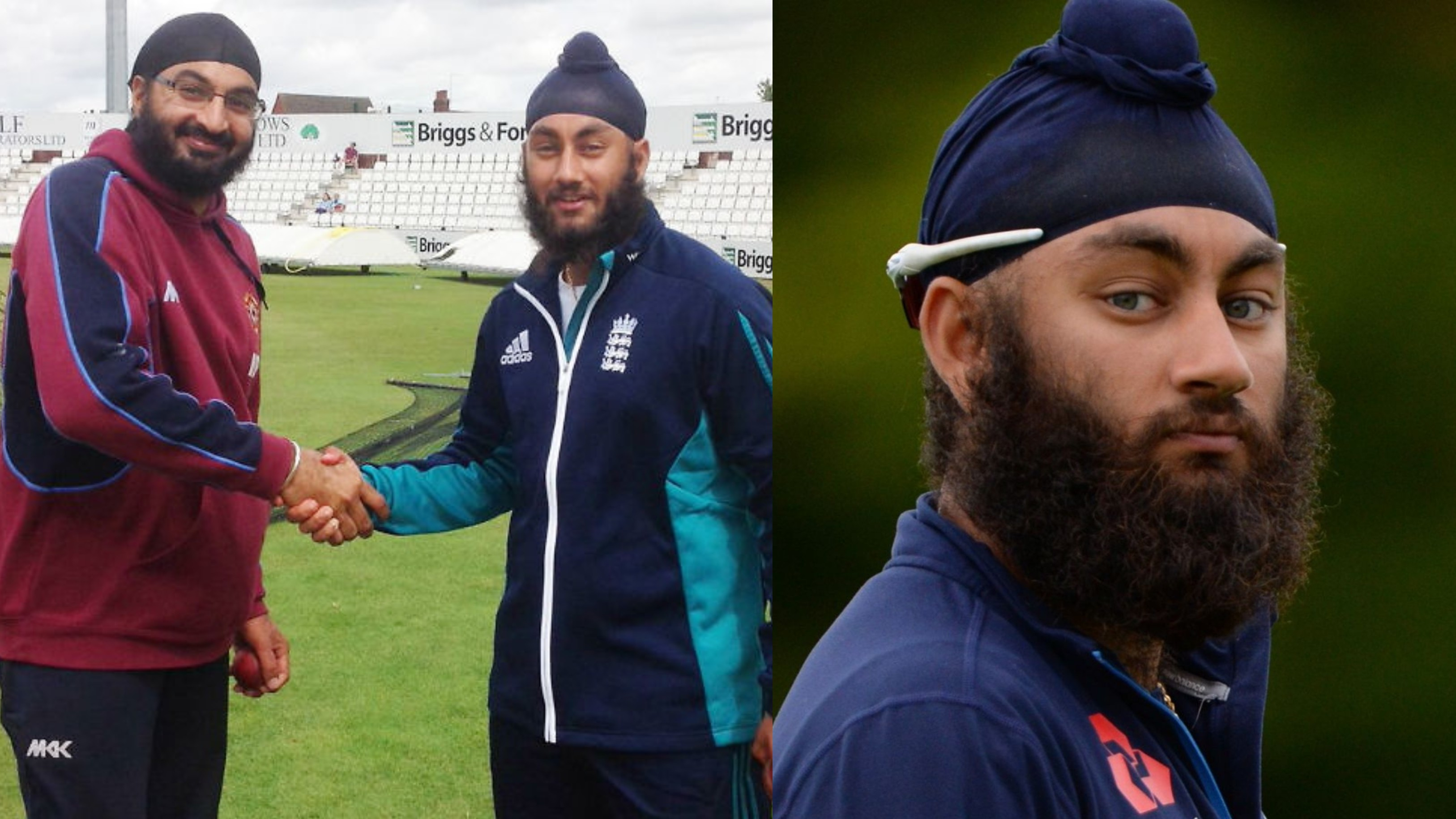 ENG v WI 2020: Amar Virdi wants to follow Monty Panesar's footsteps as the spinner eyes England Test cap