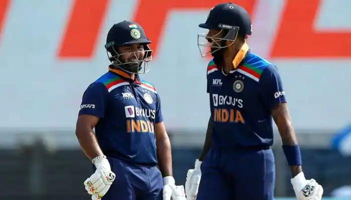 Rishabh Pant and Hardik Pandya | AFP