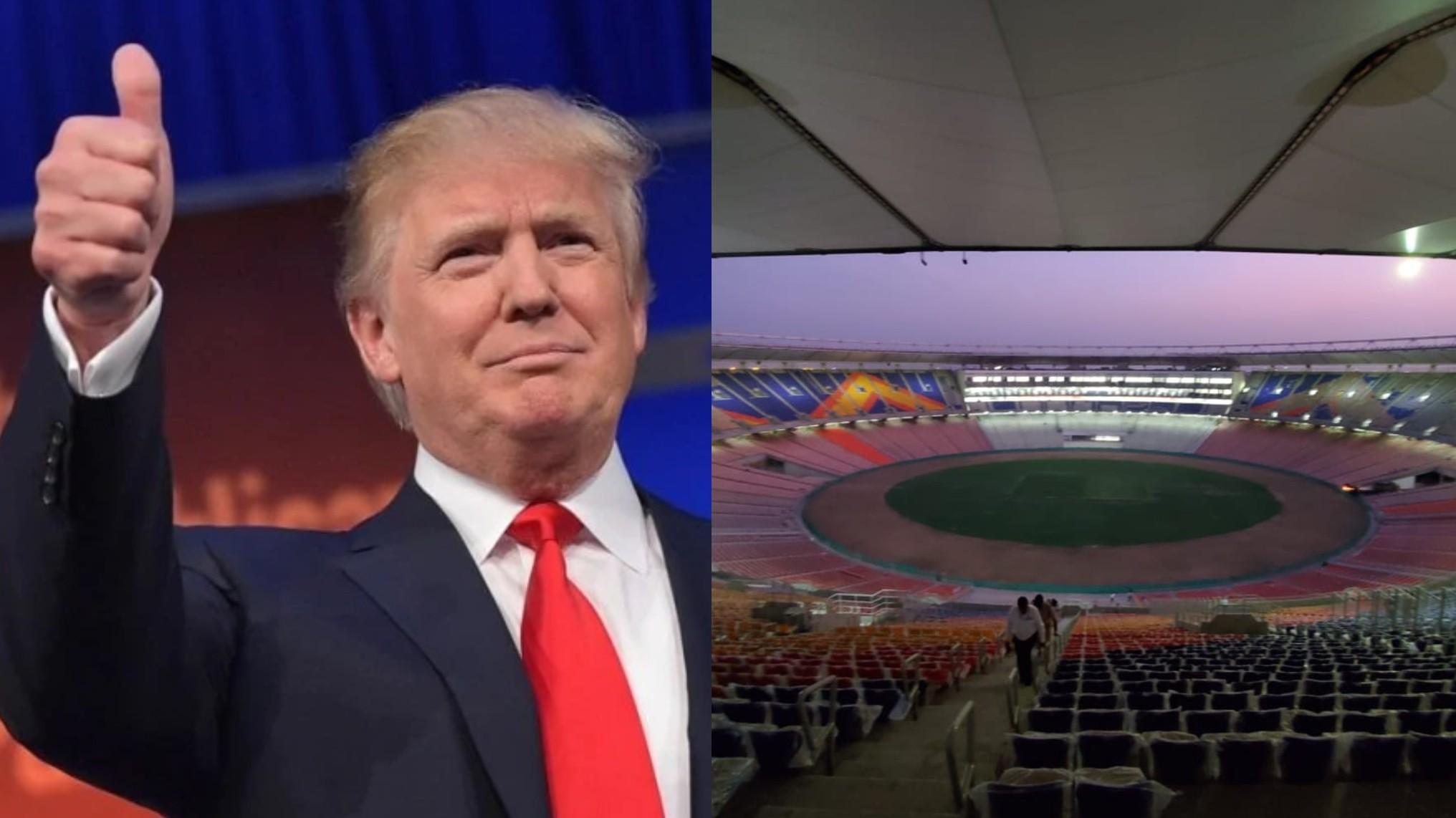 US President Donald Trump to inaugurate new Sardar Patel Stadium in Motera