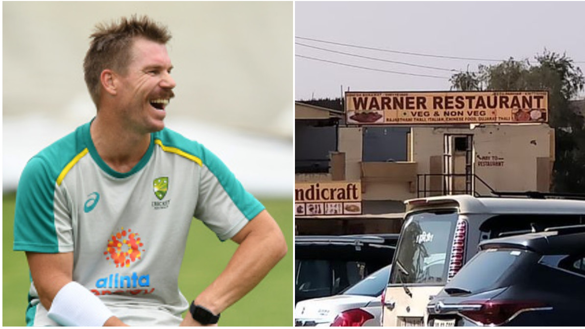 David Warner finds 'Warner Restaurant' on Instagram; asks Indian fans to find location