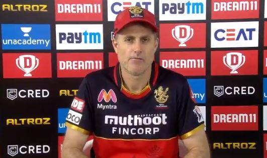 Simon Katich, the RCB head coach | screengrab