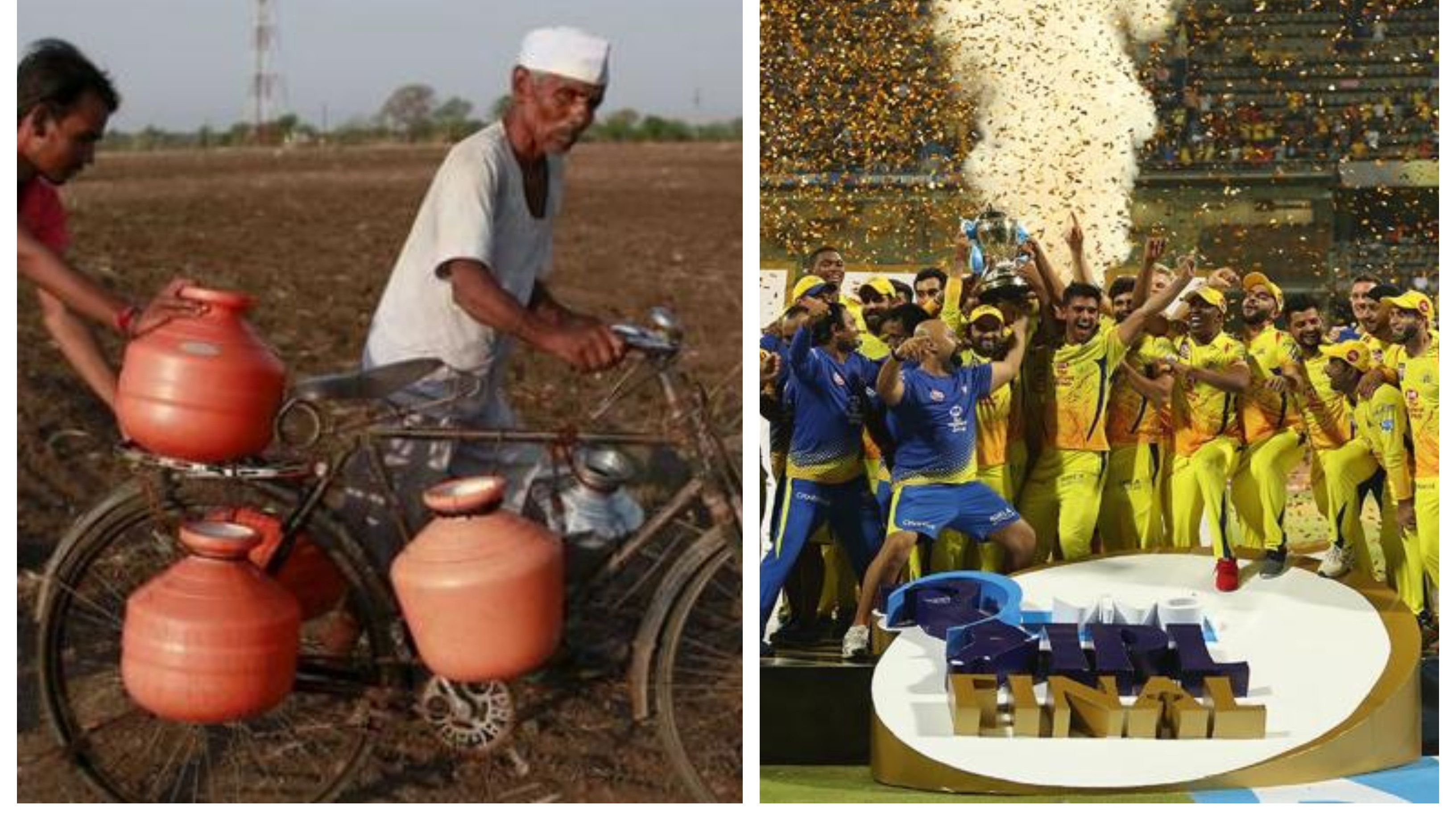 Drought might put IPL matches in jeopardy this season