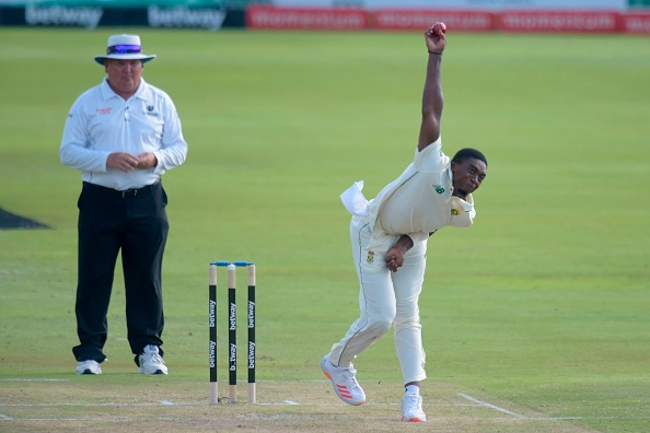 Lutho Sipamla impressed with 6 wickets on Test debut | Getty