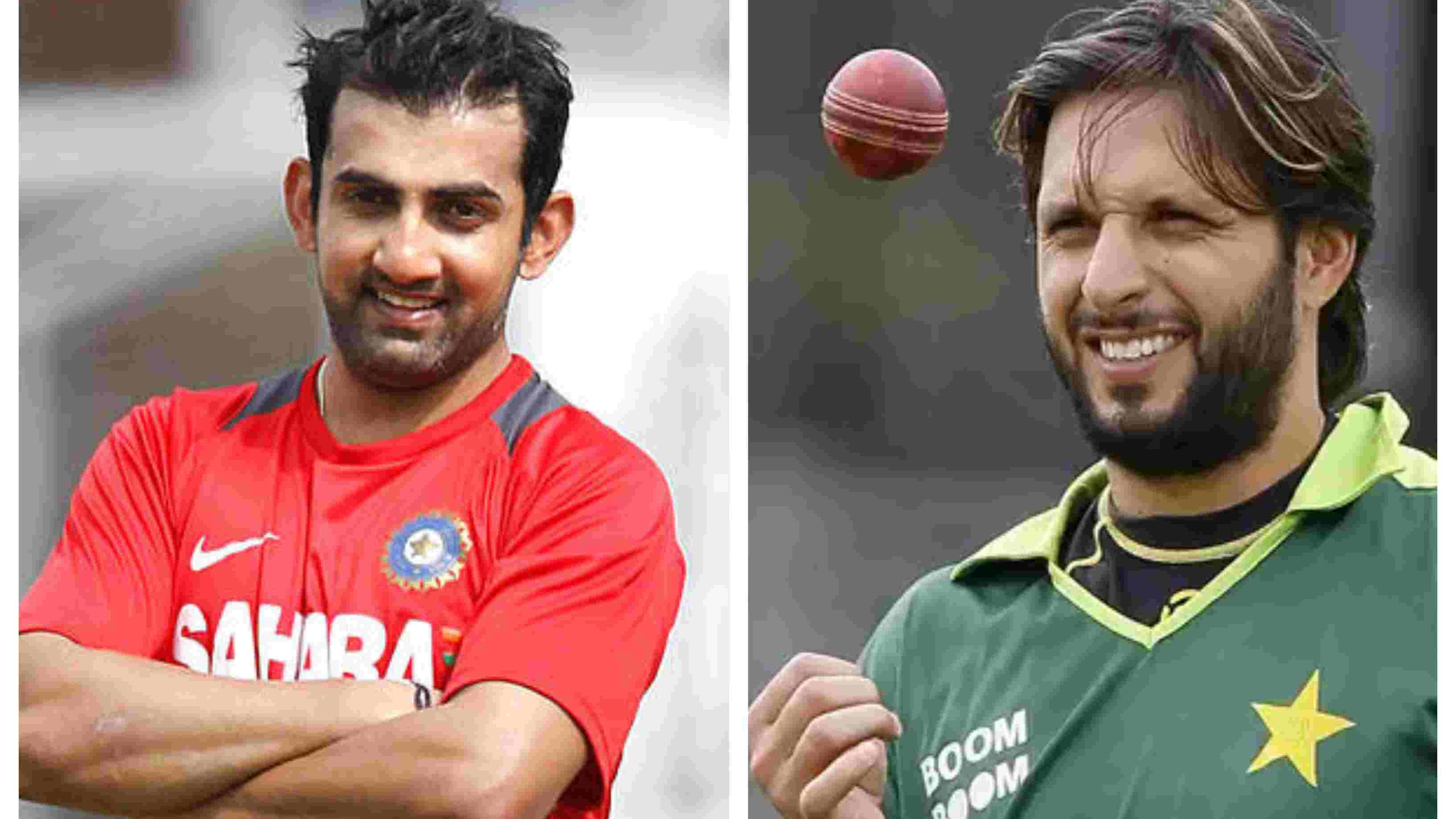 ASIA CUP 2018: WATCH – Gambhir and Afridi engage in a healthy conversation, blame media for spicing their rivalry