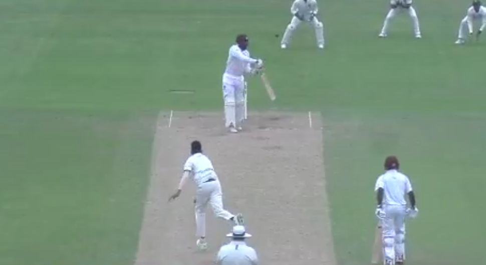 The magical delivery from Mohammed Siraj to John Campbell | Twitter