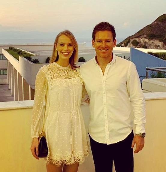 Morgan with wife Tara | Instagram